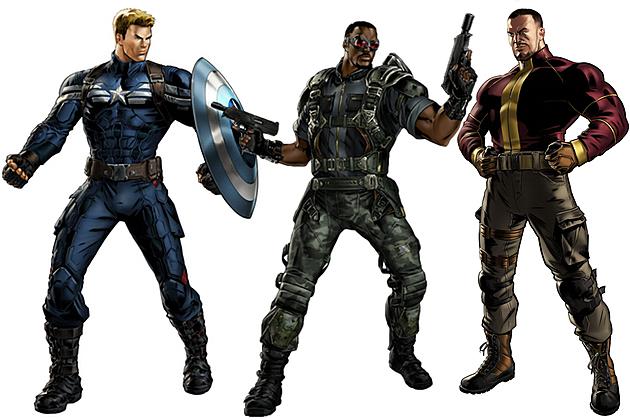 Marvel Avengers Alliance Captain America The Winter Soldier