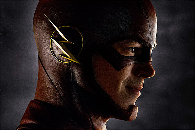 flash head grant gustin the cw