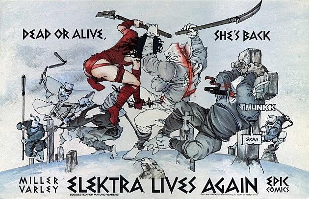 Elektra by Frank Miller and Lynn Varley