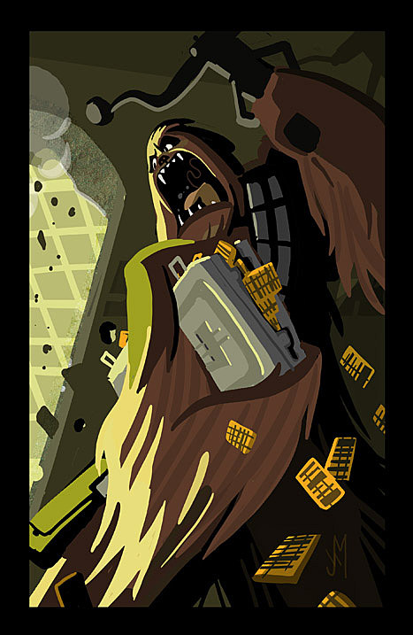 Chewbacca by Joey Mason