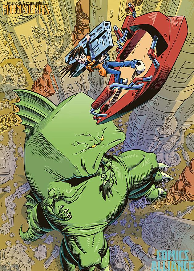 Emerald City Comicon Monsters Dames 2014 Rick Schmitz