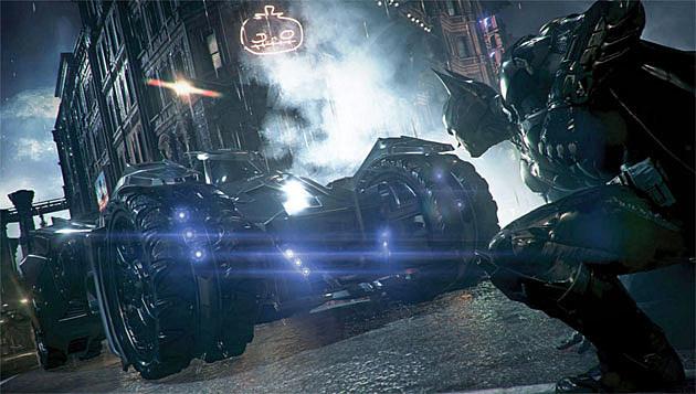New 'Batman: Arkham Knight' Screens Show Oracle & Batmobile