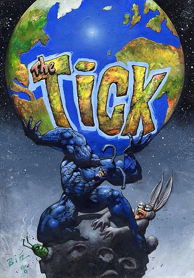 The Tick and Arthur by Simon Bisley