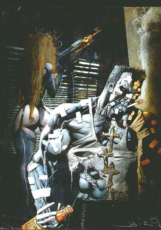 Sin City by Simon Bisley
