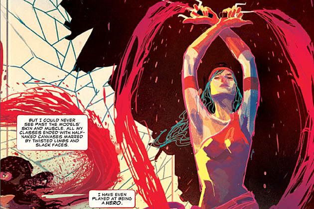 Elektra #1 by W. Haden Blackman and Michael Del Mundo