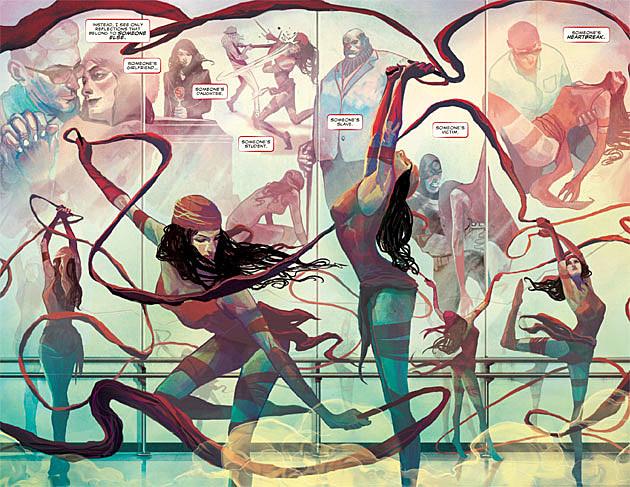 Elektra #1, W. Haden Blackman and Michael Del Mundo
