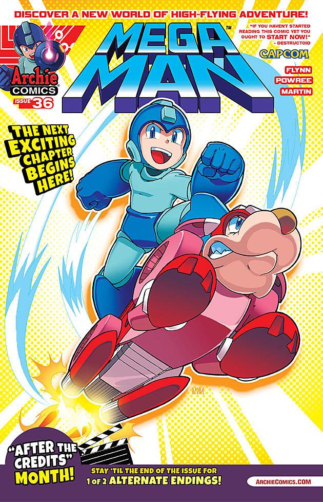 Mega Man #36, Archie Comics