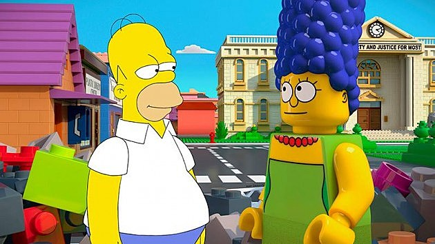 The Simpsons Brick Like Me episode