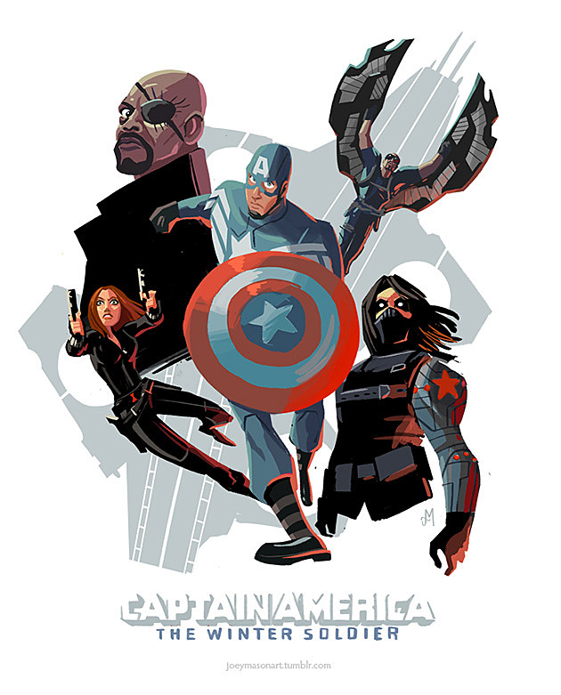 Captain America: The Winter Soldier by Joey Mason