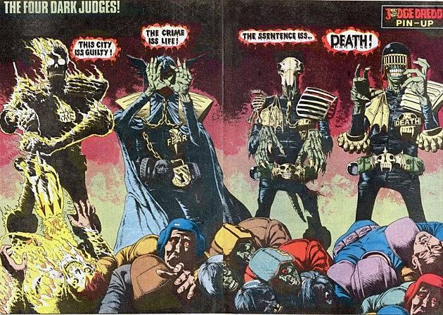 Dark Judges by Brian Bolland