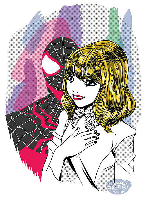 Emma Stone Gwen Stacy /></span></strong> </p> <p style=