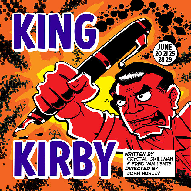 King Kirby, art by Ryan Dunlavey