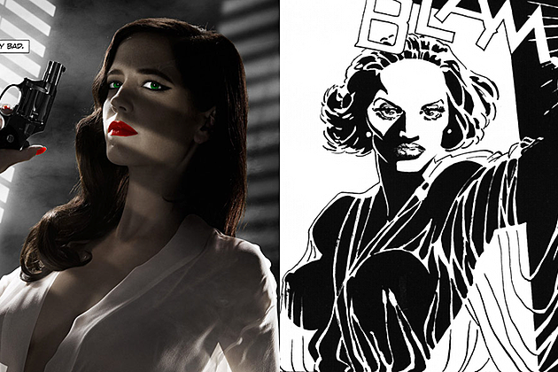 Sin City 2 Poster Eva Green Banned main