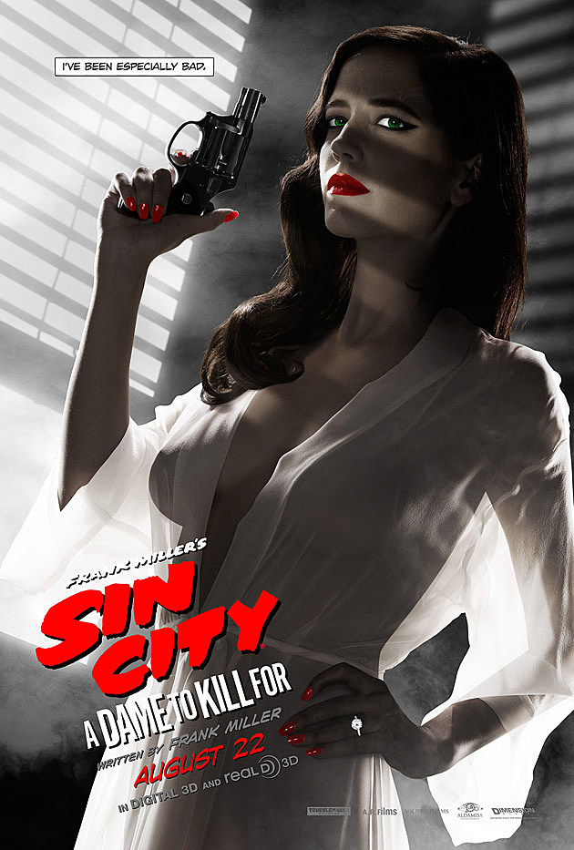 Sin City 2 Poster Eva Green Banned