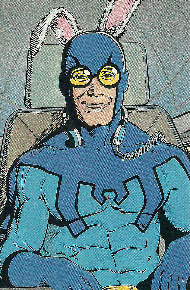Blue Beetle Ted Kord by Kevin Maguire and Joe Rubenstein