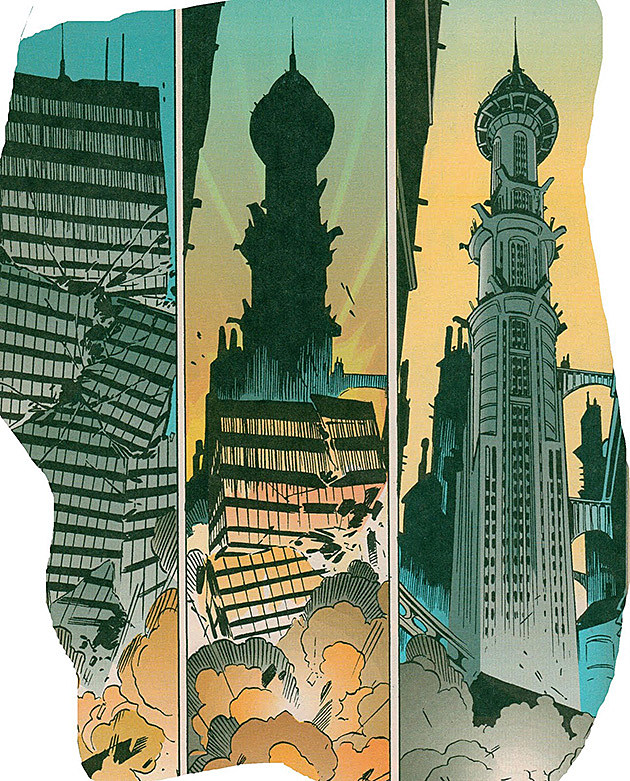 Anton Furst Gotham City Batman Destroyer
