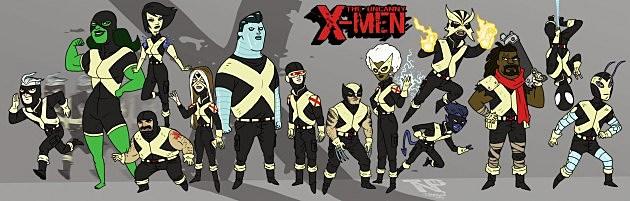 X-Men by Thomas Perkins