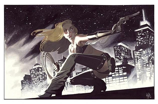 Sin City's Nancy Callahan by Jorge Molina