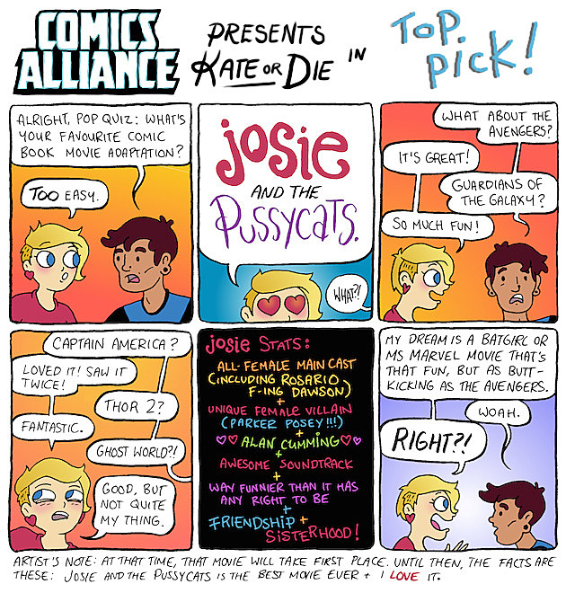 Kate Or Die ComicsAlliance Best Movie Kate Leth