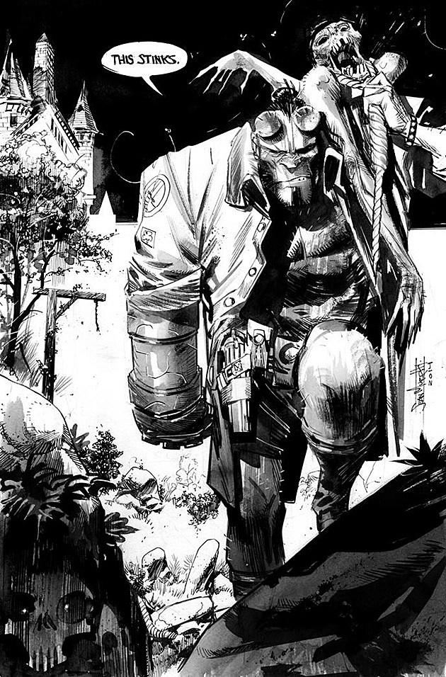 Hellboy by Sean Murphy