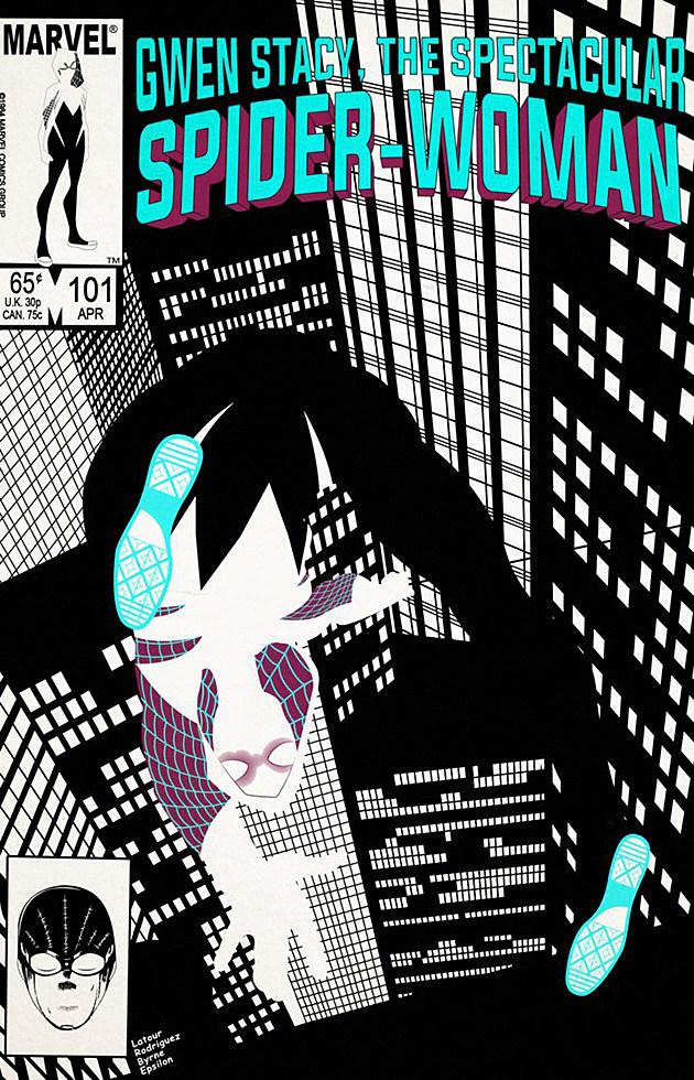Spider-Gwen by Epsilon