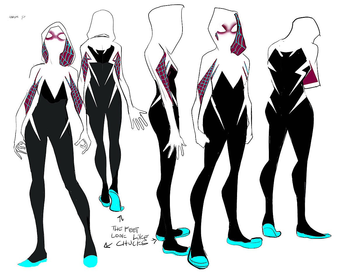 Gwen Stacy As Hero Latour Rodriguez amp Renzi On Spider Gwen