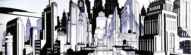 Gotham City by Richie Chavez