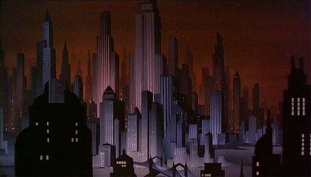 Gotham City, Batman: The Animated Series