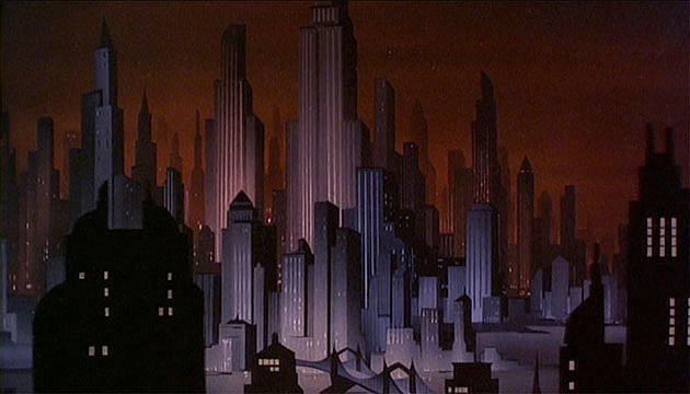 Gotham City, Batman: The Animated Series