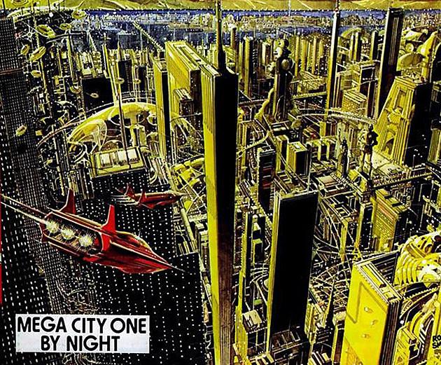 Mega-City One by Ron Smith
