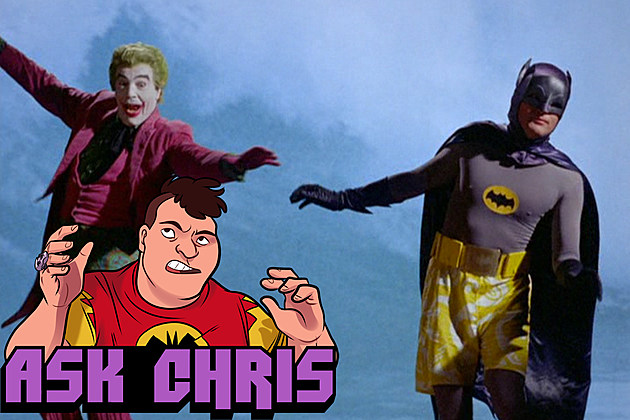 Ask Chris #273, background image from Batman