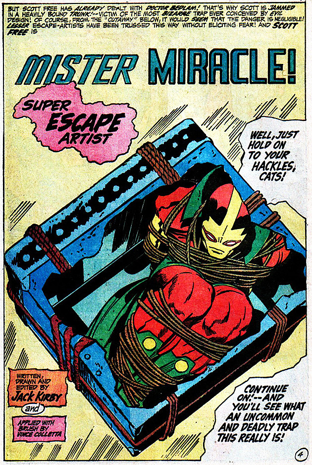 Mister Miracle #4, DC Comics