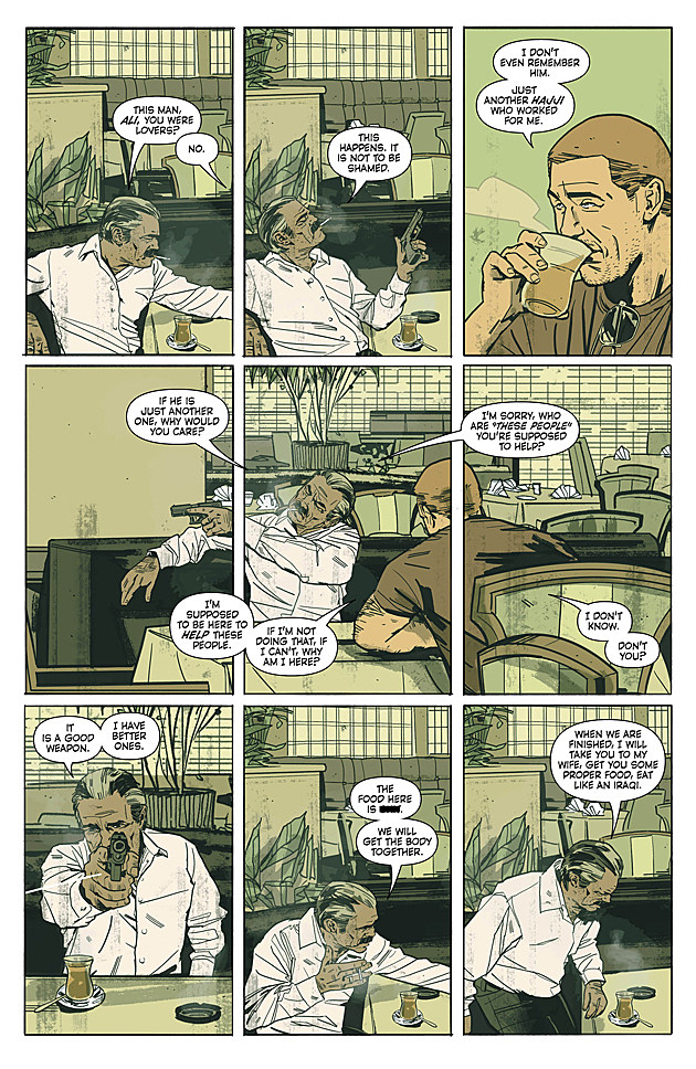 Sheriff of Babylon #2, Vertigo