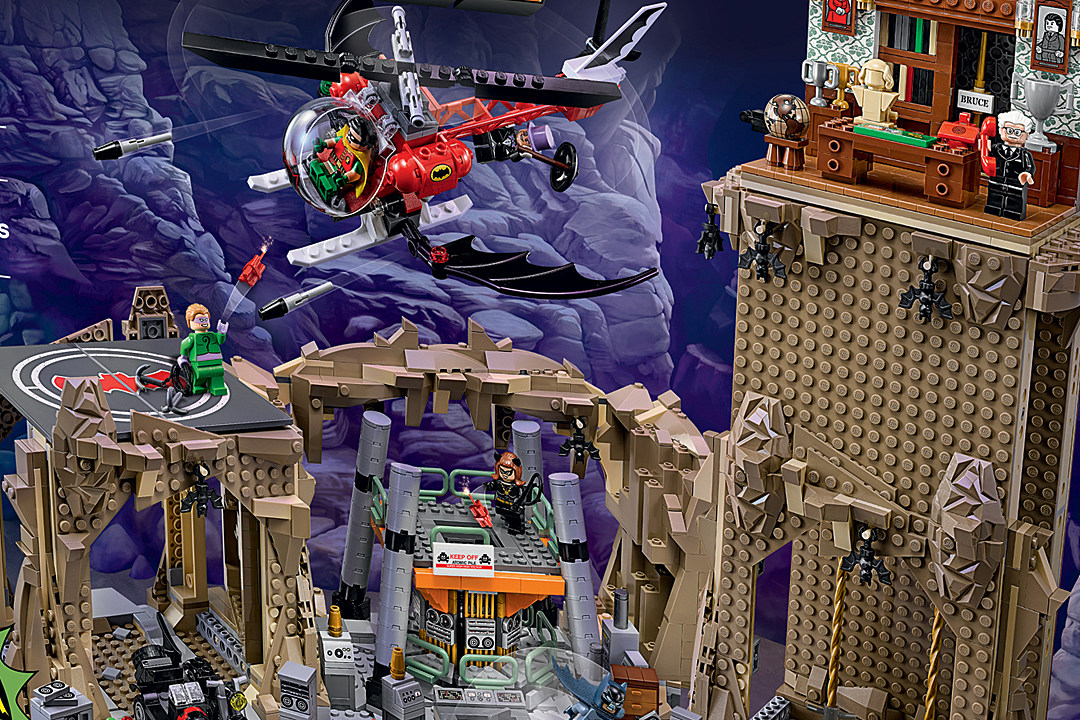 The Lego 'Batman 66' Batcave Is Everything We Ever Wanted