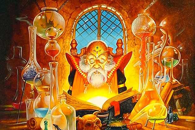 Unearthed Arcana cover art by Jeff Easley
