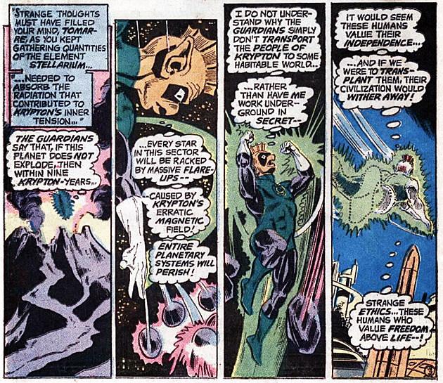 Superman #257, DC Comics
