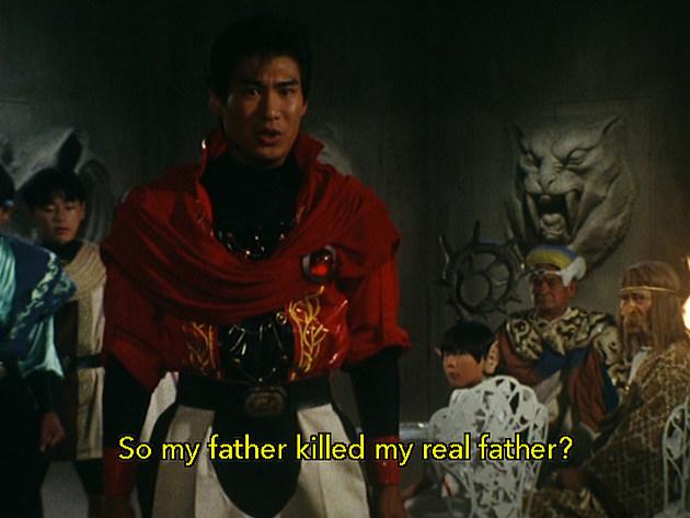 Kyoryu Sentai Zyuranger: The Hateful Brother's Sword