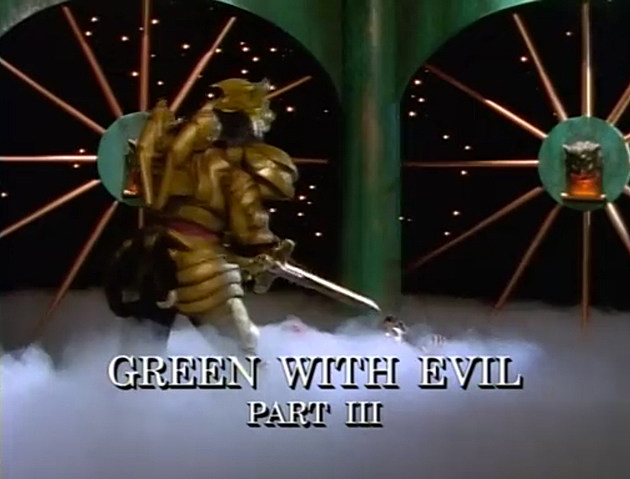 Mighty Morphin Power Rangers Episode 19: Green With Evil, Part 3
