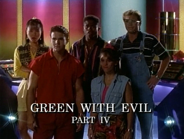 Mighty Morphin Power Rangers Episode 20: Green With Evil, Part IV