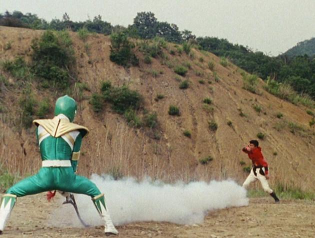 Kyoryu Sentai Zyuranger: Female Warrior Scorpion!
