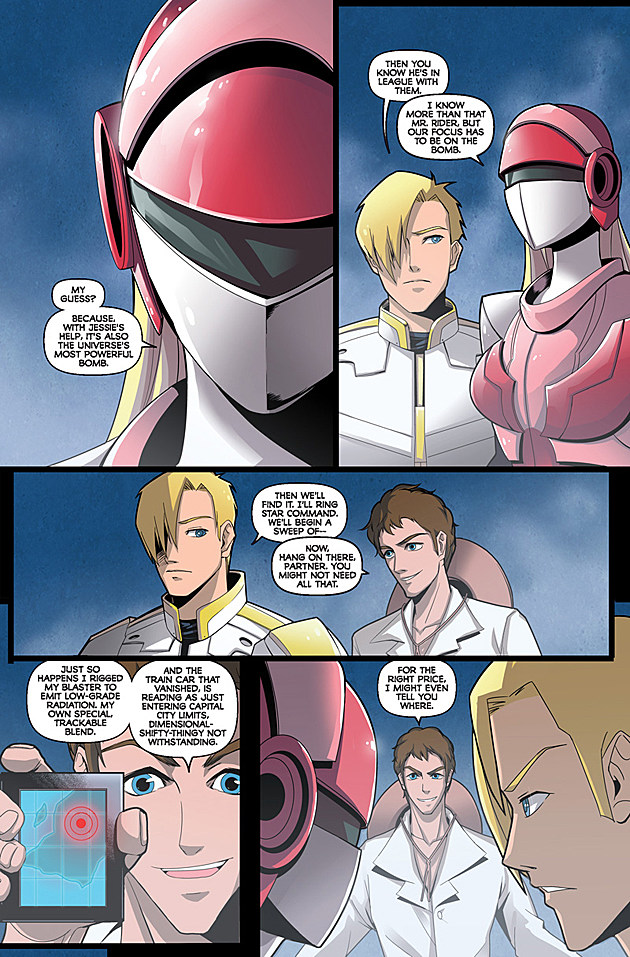 Saber Rider and the Star Sheriffs #1