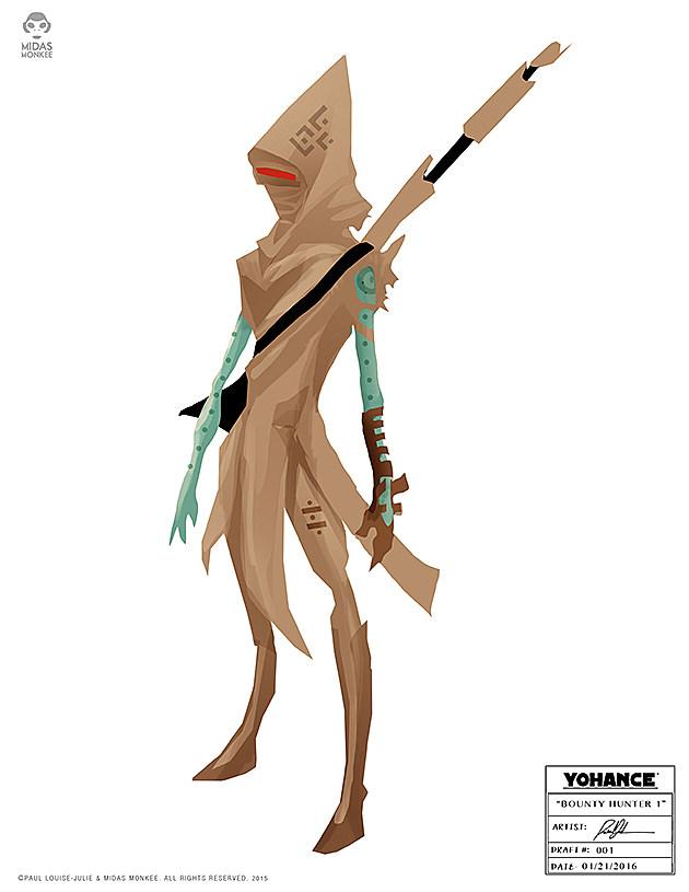 Sand Bounty Hunter