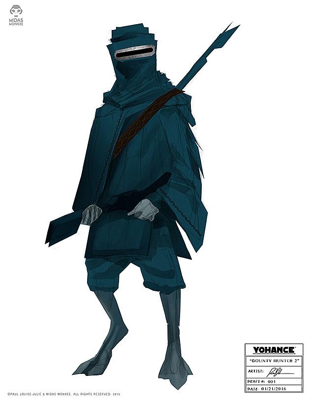 Tuareg Bounty Hunter