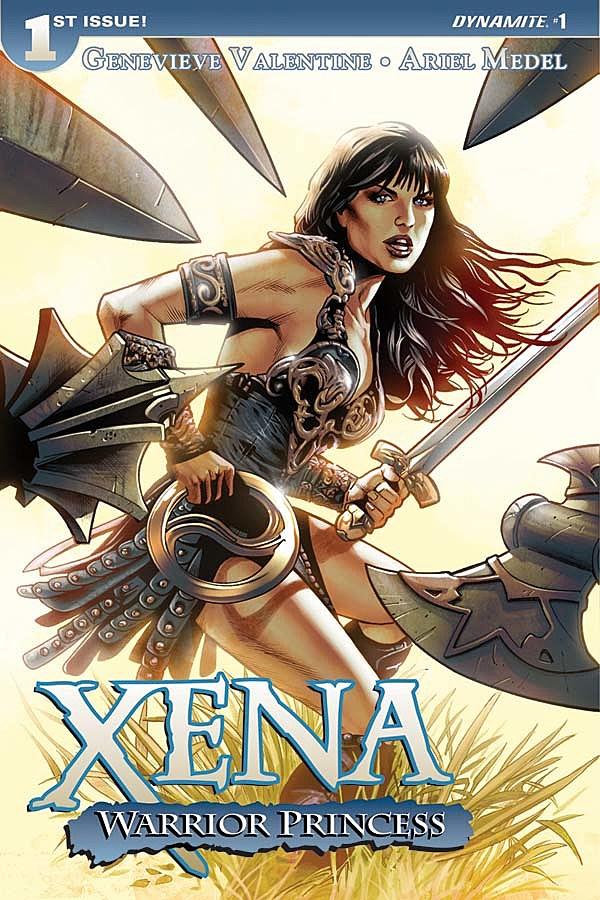 U0027Xena: Warrior Princessu0027 Returns With Genevieve Valentine And Ariel Medel