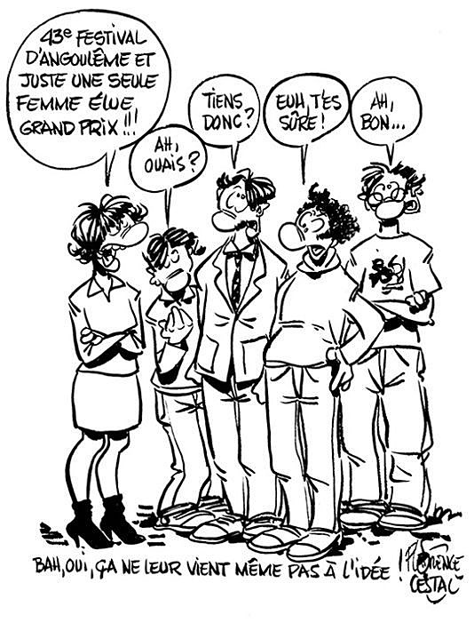 Comic by the Angouleme Grand Prix's only female recipient, Florence Cestac
