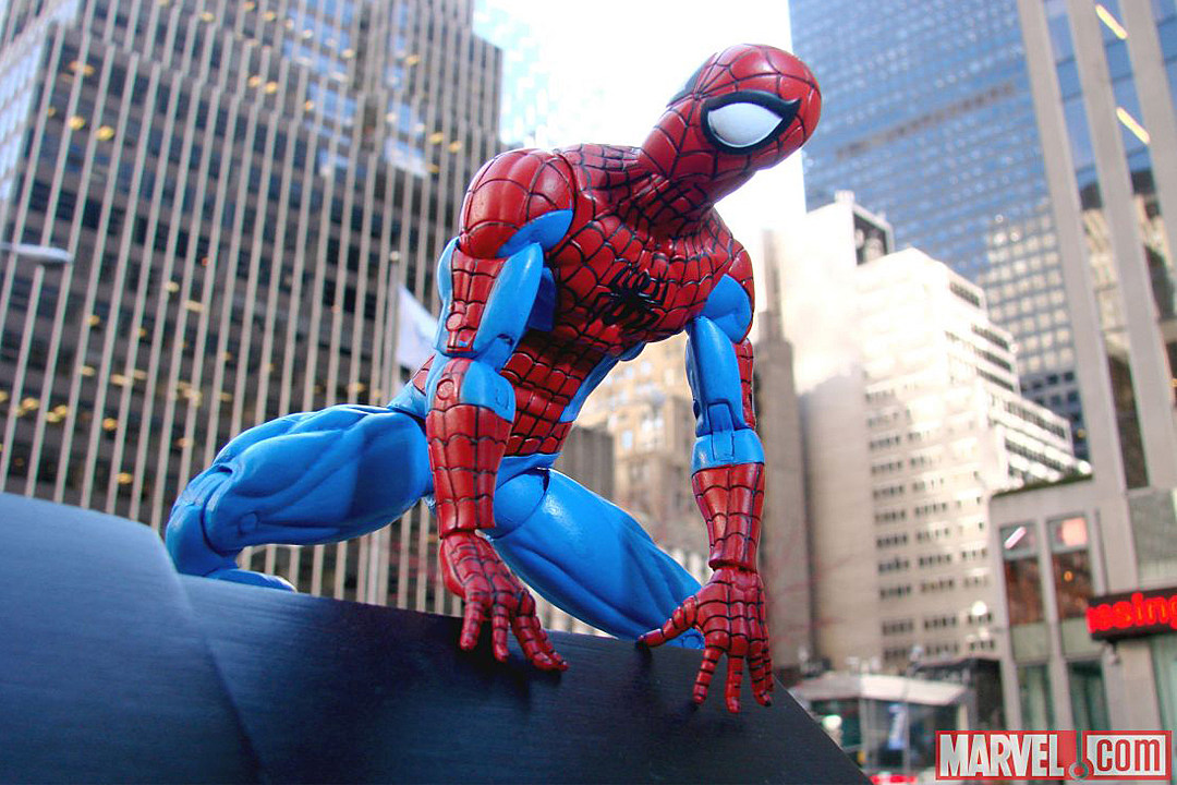 Spider-Man is Out and About as Marvel Select's Next Figure