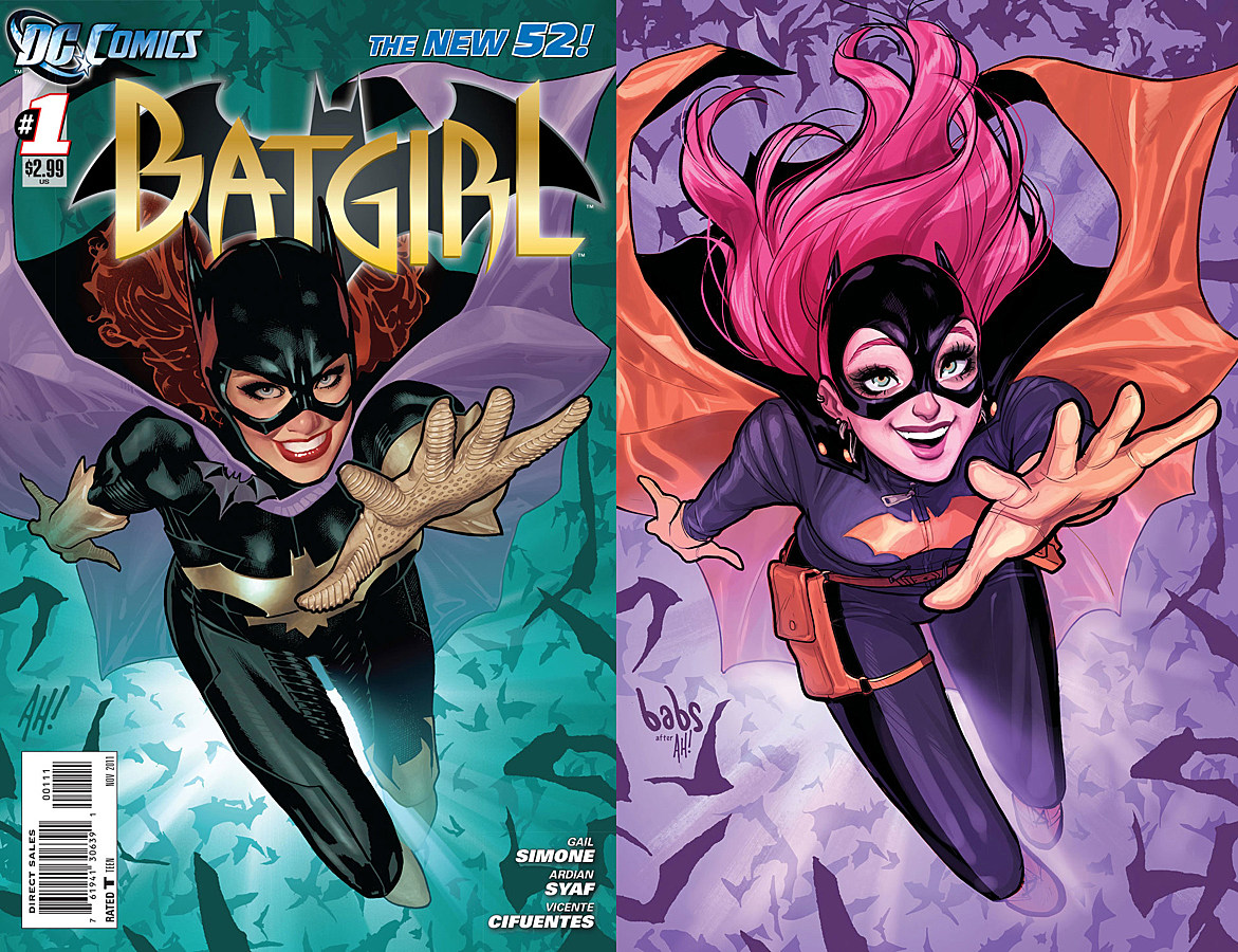 Batgirl #52 variant cover by Babs Tarr