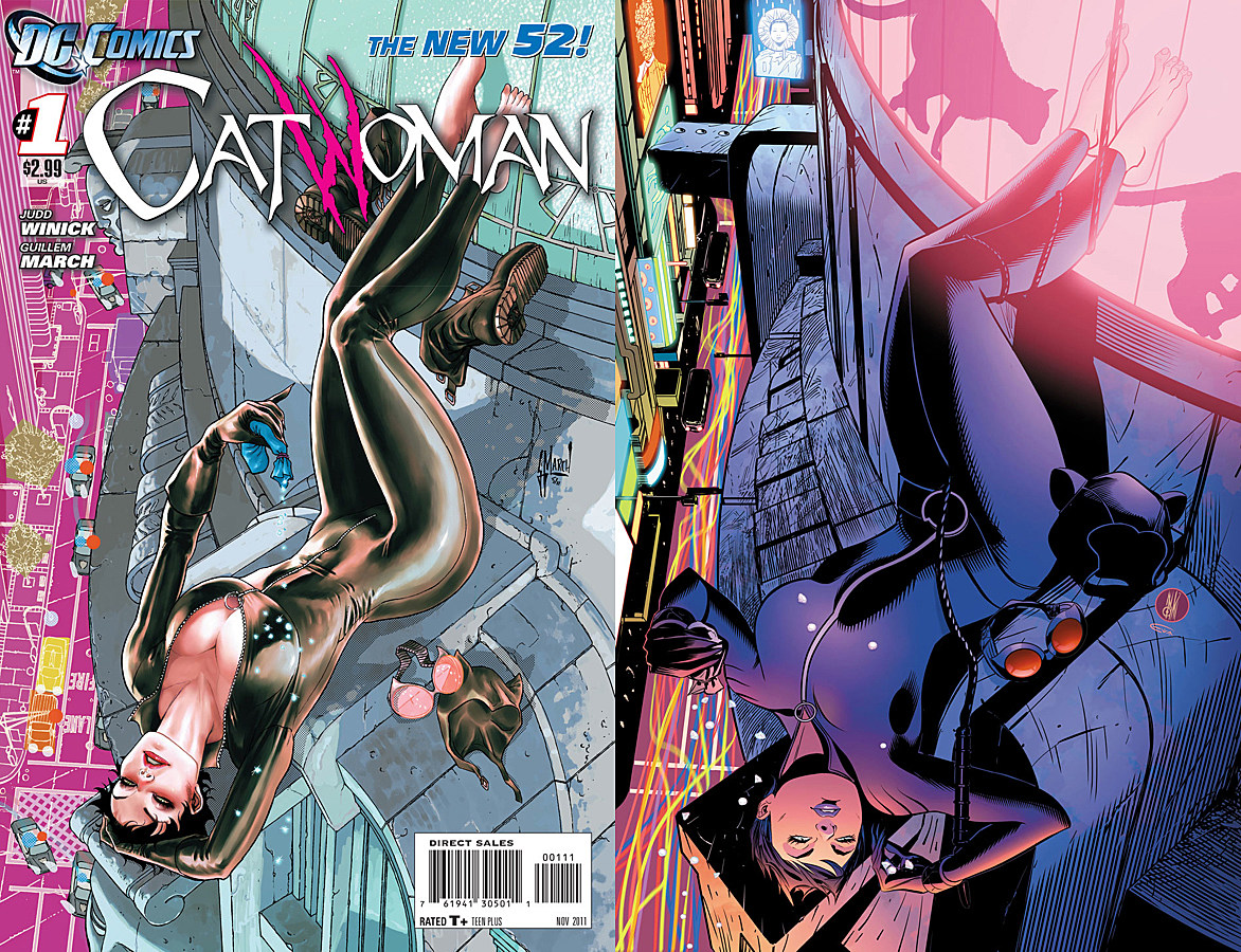 Image Gallery Catwoman 52 Reboot
