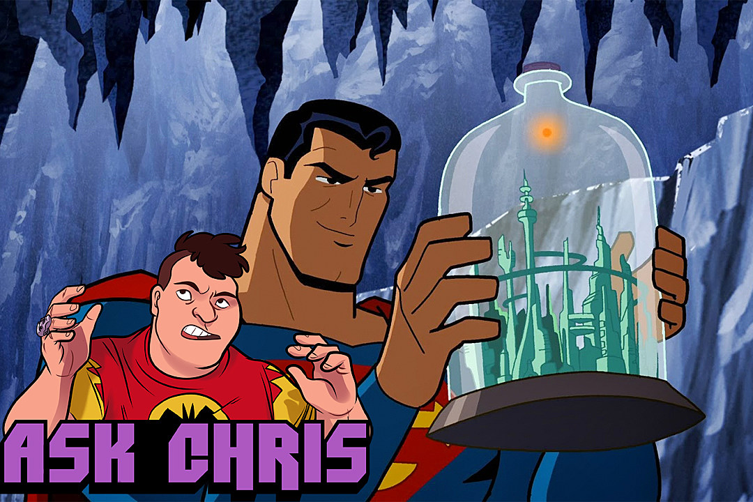 Ask Chris #279, background art from Batman: The Brave and the Bold