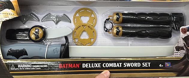 Batman v Superman toys